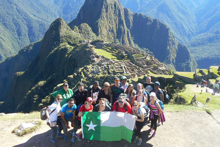 UNT students study abroad